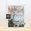 "New York Puzzle Company The New Yorker ""Skating in the Park""750pc/ザ・ニューヨーカー ジグソーパズル 750ピース"