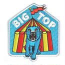 MOKUYOBI IRON ON PATCH ''BIG TOP'' / モクヨウビ アイロンパッチ ワッペン