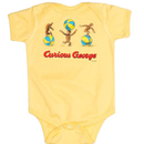 Out of Print Curious George Bodysuits / アウトオブプリント おさるのジョージ ロンパース