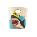 FLUF CLASSIC LUNCH BAG KING SHARK / フラフ クラシック キャンバス ランチバッグ
