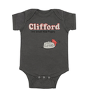 Out of Print Clifford the Big Red Dog Bodysuit / アウトオブプリント おおきいあかい クリフォード ロンパース