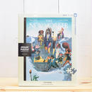 "New York Puzzle Company The New Yorker ""City Dogs""1000pc/ザ・ニューヨーカー ジグソーパズル 1000ピース"