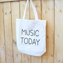 "NORITAKE ""MUSIC TODAY"" TOTE BAG"