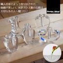 DESIGN IDEAS APHRODITE VASE CLEAR / デザインアイデア アフロディテ ベース 一輪挿し 花瓶