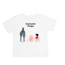 Out of Print Everyone Poops / アウトオブプリント みんなうんちキッズ Tシャツ