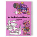 KID MADE MODERN ARTIST BOOKS TO COLOR IN ''TIM BISKUP''  / キッドメイドモダン カラーリングブック 塗り絵