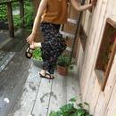 【8/3ゴジカル!着用】樹海色のシフォンガウチョパンツ