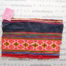 Hmong モン族 はぎれno.134  21x14 cm 刺繍布 古布 山岳民族 hilltribe ラオス タイ