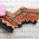 Hmong モン族 はぎれno.82  17x6 cm 刺繍布 古布 山岳民族 hilltribe ラオス タイ