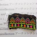 Hmong モン族 はぎれno.232  5x11 cm 刺繍布 古布 山岳民族 hilltribe ラオス タイ