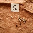 カレン族シルバー銀925NOQ 15個1G W0.25H0.2D0.2CM穴1.5MM necklaceネックレス karen hilltribe