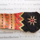 Hmong モン族 はぎれno.278  6x19 cm 刺繍布 古布 山岳民族 hilltribe ラオス タイ