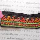 Hmong モン族 はぎれno.67  22x8 cm 刺繍布 古布 山岳民族 hilltribe ラオス タイ
