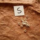 カレン族シルバー銀925NOS 15個1G W0.25H0.1D0.1CM穴1MM necklaceネックレス karen hilltribe