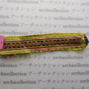 Hmong モン族 はぎれno.71  22x4 cm 刺繍布 古布 山岳民族 hilltribe ラオス タイ
