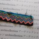 Hmong モン族 はぎれno.233  5x18 cm 刺繍布 古布 山岳民族 hilltribe ラオス タイ