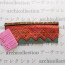 Hmong モン族 はぎれno.214  13x5 cm 刺繍布 古布 山岳民族 hilltribe ラオス タイ