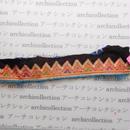 Hmong モン族 はぎれno.58  28x4 cm 刺繍布 古布 山岳民族 hilltribe ラオス タイ