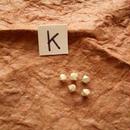 カレン族シルバー銀925NOK 5個1G W0.3H0.3D0.3CM穴1.5MM necklaceネックレス karen hilltribe