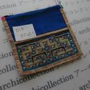 モン族の襟飾り no.16  10.5x10.5 cm  Hmong embroidery needlework はぎれ ラオス タイ