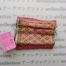 Hmong モン族 はぎれno.125  9x10 cm 刺繍布 古布 山岳民族 hilltribe ラオス タイ