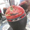 ウズベキスタン ウズベク族UZBEK WOMEN'S CAP30 刺繍女性用帽子45h10cm