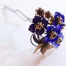 ちゃいず              紫陽花かんざし①