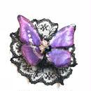GOTHIC HOLIC/ゴシックホリック 舞い踊る蝶々クリップ 小 薄紫 194