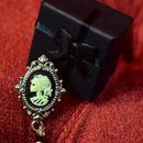 Phantom Jewelry/ファントムジュエリー カメオと黒い蝋燭のリング