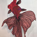 琴子/ことこ 金魚の帯飾り