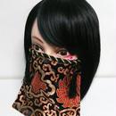 アルマジ製作所/アルマジオリジナル アルマジマスク(黒金×黒タッセル)GD
