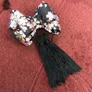 琴子/ことこ リボン mimi黒桜