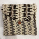 """KNIT CLUCH BAG"""