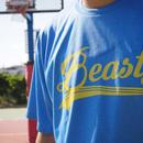 Beasty Logo T-shirts  -mix blue-(スポーツ生地)
