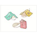 『ハリネズミのふーくん』READING ポストカード