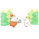 『ハリネズミのふーくん』CHRISTMASポストカード