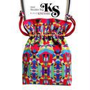 No.26 KSB-A★2WAY Shoulder Bag KINCHAKU 【 Hellow, Vivia! A 】巾着ショルダーバッグ [内ポケット+ビニールポーチ付]