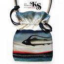 No.18 KSB★2WAY  Shoulder Bag KINCHAKU 【Silent Zone】巾着ショルダーバッグ【サイレントゾーン】 [内ポケット+ビニールポーチ付]