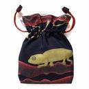 No.16 KSB★2WAY   Shoulder Bag KINCHAKU   【 LEON  】巾着ショルダーバッグ 【 レオン  】 [内ポケット+ビニールポーチ付]