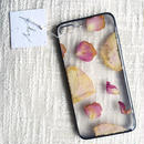 フローラル i phone7Plus case  (ブラック)①