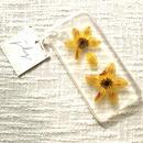 フローラル i phone 7 case  (クリア)⑥