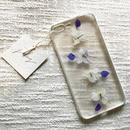フローラル i phone7/8Plus case  (ホワイト)④