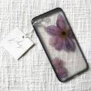 フローラル i phone7/8Plus case  (ブラック)⑥