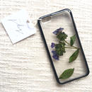フローラル i phone 6/6S case(ブラック)⑤