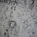 ラウル・デュフィのリトグラフ 「オーケス トラ」  コンディション良好 :送料無料