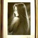 :最安値 鶴田一郎 人気作品 「エンジェルドリーム」 シルクスクリーン    直筆サイン、エディション200   、送料無料  売約済み