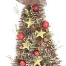 木の実クリスマスツリー