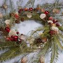 fernsひのきローズクリスマスリース