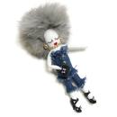 Doll Charm (Denim Gray)
