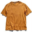 LAMOND(ラモンド)  SUVIN COTTON TEE  CAMEL